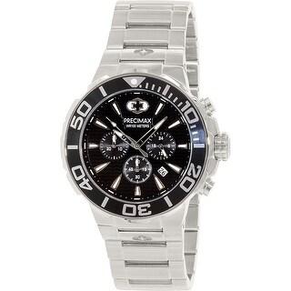 Precimax Men's Instinct Pro PX14011 Silver Stainless-Steel Plated Sport Watch