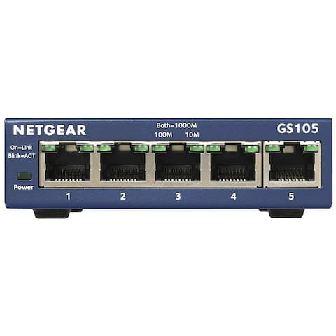 Netgear NET-GS105NAM 5 Port Gigabit Desktop Switch