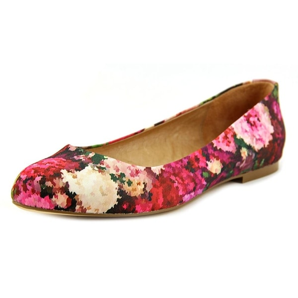 Nina Peppy Women Round Toe Canvas Flats