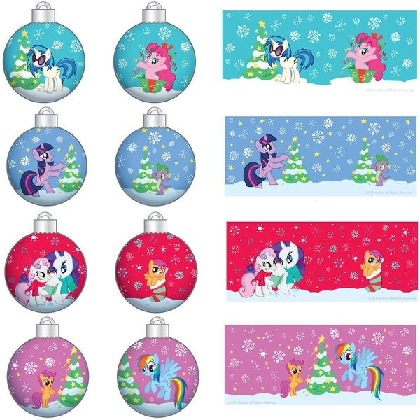 My Little Pony Christmas Ornament Pack - Set of 4