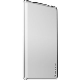 uk availability f39a5 5dc3e Mophie PowerStation 6,000 mAh External Battery Pack With Dual USB Port For  Smartphones & Tablets - Aluminum (Refurbished)   Overstock.com Shopping -  ...