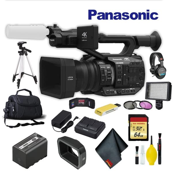 2 Pack Panasonic AG-UX90 4K//HD Camcorder Memory Card 2X 64GB Secure Digital Class 10 Extreme Capacity Memory Card SDXC