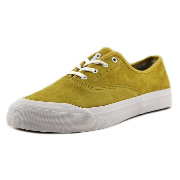 HUF Cromer Men Round Toe Suede Yellow Skate Shoe