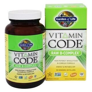 Garden of Life Vitamin Code Raw B-Complex 60 Vegan Capsules