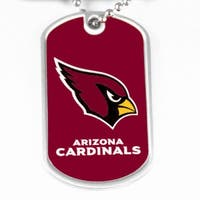 Arizona Cardinals Dog Tag Necklace Charm Chain NFL