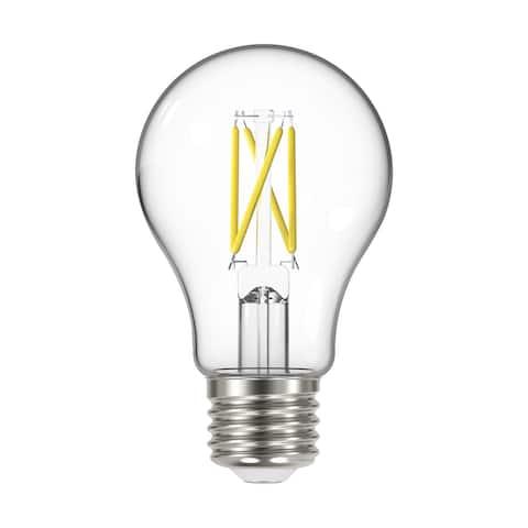 6.5 Watt A19 LED Dusk to Dawn With PhotoCell 2700K Medium base 320 deg. Beam Angle 120 Volt - Clear