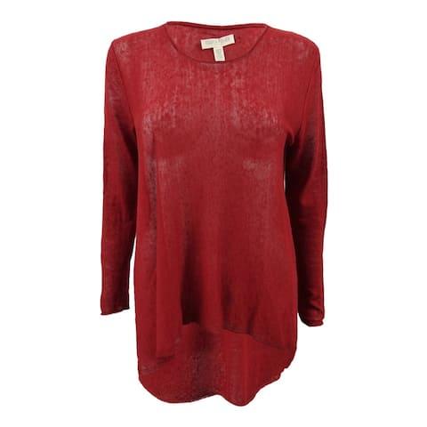Eileen FIsher Women's Petite High-Low Sweater (PXS, Serano) - Serano - PXS