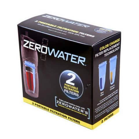 ZeroWater ZR-230 Portable Replacement Filters, 2/Pack