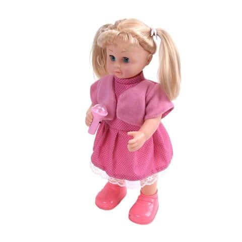 WonderPlay Baby Doll Set with Walking & Singing Function Toddler 2 - 4 years - MC