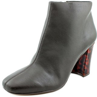Nina Sail Women Round Toe Leather Ankle Boot