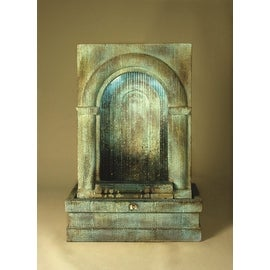 Grotto Falling Diamonds Fountain Finish: Standard Tuscan Sienna