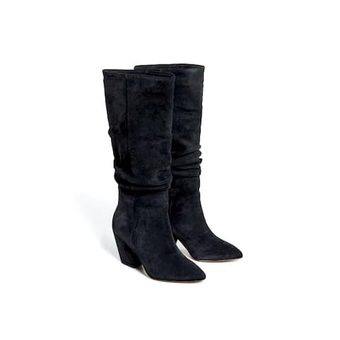 Splendid Womens Clayton Leather Closed Toe Over Knee Fashion Boots