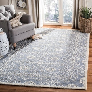 Link to Safavieh Handmade Bella Zena Modern Floral Wool Rug Similar Items in Transitional Rugs