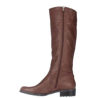 Alfani Womens JADAH Closed Toe Mid-Calf Riding Boots Riding Boots