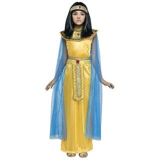 Girls Golden Cleopatra Costume