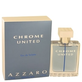 Chrome United by Azzaro Eau De Toilette Spray 1.7 oz - Men