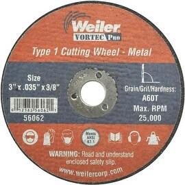 Weiler 3X1/32 Abrasive Wheel