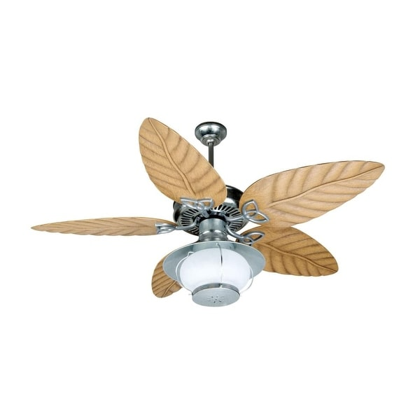 "Craftmade K10527 Indoor / Outdoor Patio Fan 54"" 5 Blade Indoor / Outdoor Ceiling Fan - Blades and Light Kit Included"