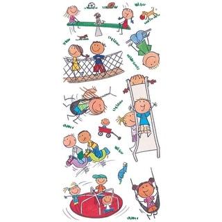 Specialty Stickers-Park Kids