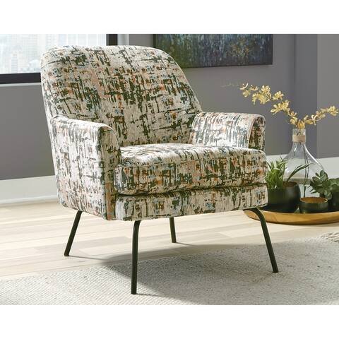 "Dericka Contemporary Steel Accent Chair - 28""W x 33""D x 32""H"