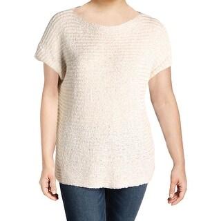 Lauren Ralph Lauren Womens Plus Darbye Pullover Sweater Textured Knit - 1x