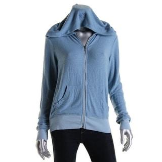 Wildfox Couture Womens Full Zip Long Sleeves Hoodie - XS