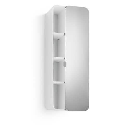 "WS Bath Collections Bej 8020 12"" x 32"" Single Door Frameless Medicine Cabinet"