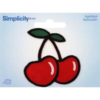 Wrights Iron-On Applique-Cherry