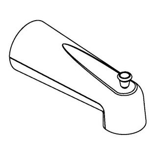 Moen 3853 Tub Spout with Integrated Diverter