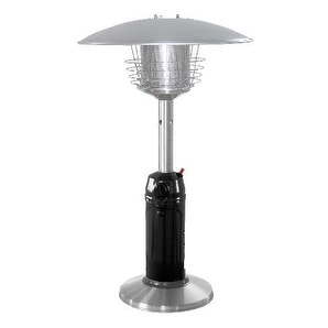 PrimeGlo HLDS032-BSS Tabletop Propane Patio Heater - Stainless Steel