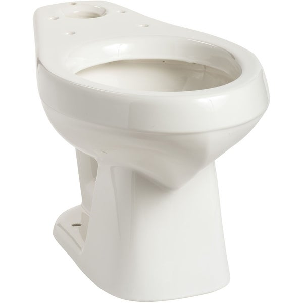 Mansfield 138 Alto Elongated Toilet Bowl Only - White