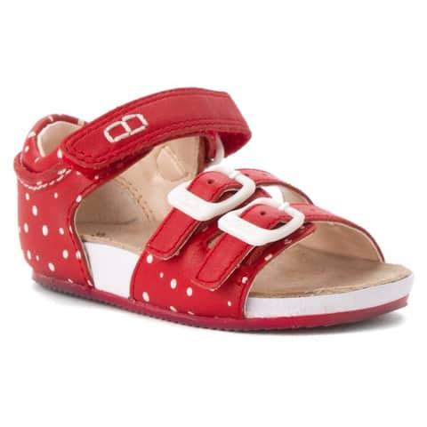 CLARKS Girl's Bundle Joy First Fashion Sandals - Prewalker 4.0 B(M) US