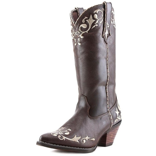 Durango RD320 Women Pointed Toe Leather Brown Western Boot