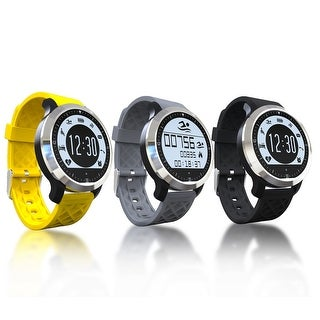 TechComm F69 Bluetooth Smart Watch with Heart Rate Monitor