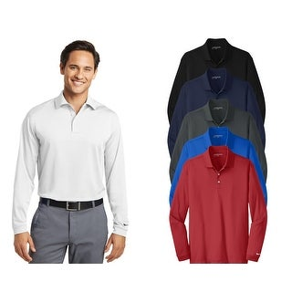 Link to Nike Men's Long Sleeve Dri-Fit Stretch Tech Polo Similar Items in Men's Athletic Clothing