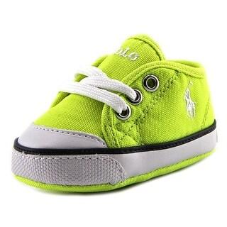 Ralph Lauren Layette Chaz Infant Round Toe Canvas Sneakers