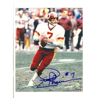 Autographed Joe Theismann Washington Redskins 8x10 Photo