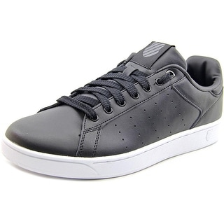 K-Swiss Clean Court Men  Round Toe Leather  Tennis Shoe