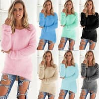 Winter Sweater Women Casual Korean Slim Pullovers Sweaters Tops