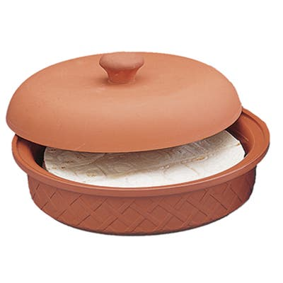 Terra Cotta Tortilla Warmer