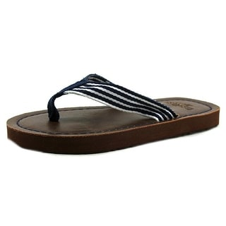 Osh Kosh Jared 2 Open Toe Canvas Flip Flop Sandal