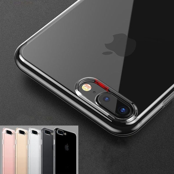 Silicon Crystal Clear Rubber Shockproof Bumper Case Cover For iPhone 7/7 Plus