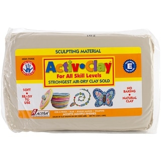 Activ-Clay Air-Dry Clay 3.3lb-White - White