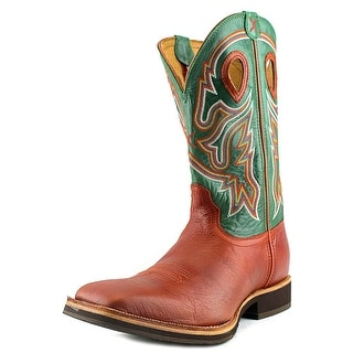 Twisted X Horseman Men 2E Pointed Toe Leather Multi Color Western Boot