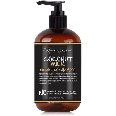 Renpure Coconut Milk Nourishing Shampoo, 16 oz