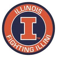 University of Illinois Roundel Mat