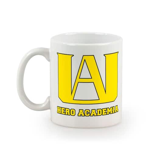 My Hero Acadamia U.A. High School 11 oz Ceramic Coffee mug - White