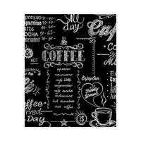 Graham and Brown 32-993 56 Square Foot - Coffee Shop Black & White - Non-Pasted Non-Woven Wallpaper