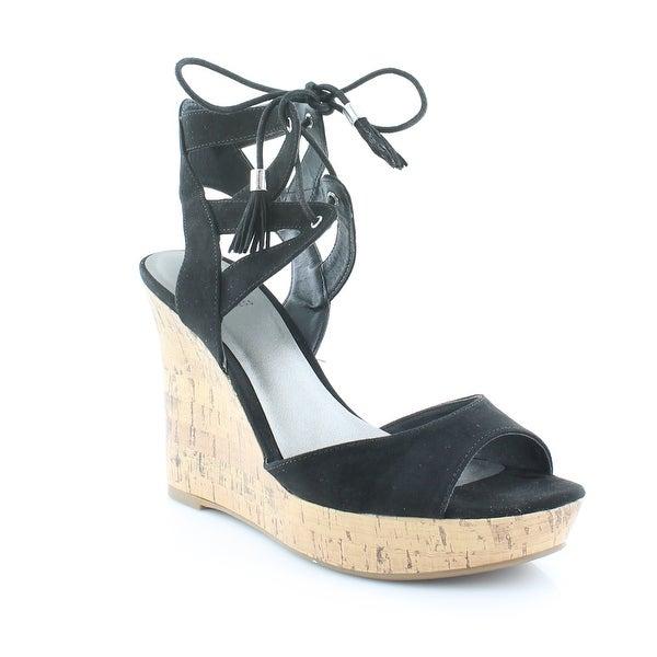 G by Guess Estes Women's Sandals & Flip Flops Black