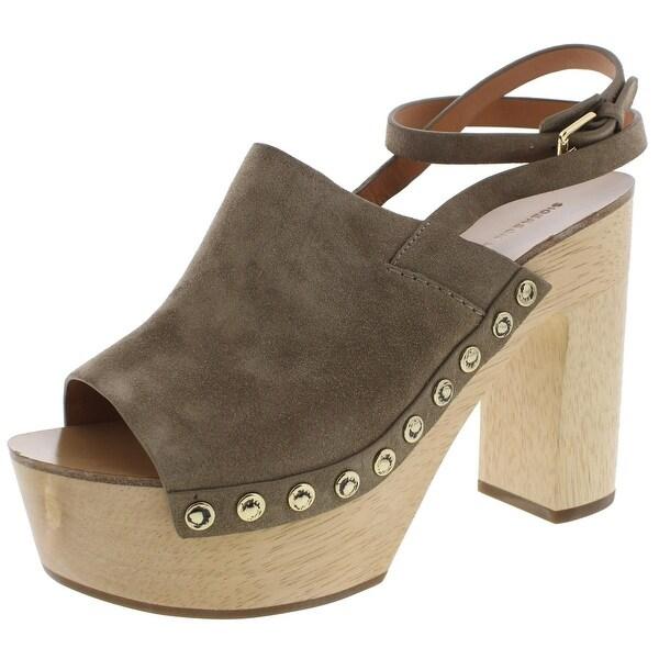 Sigerson Morrison Womens Quella Platform Sandals Slingback